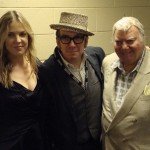 Diana Krall, Elvis Costello and Louis Jannetta