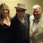Diana Krall, Elvis Costello and Louis Jannetta